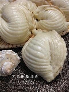 贝壳椒盐花卷