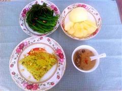 黄瓜小米面煎饼