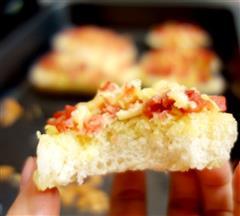 蒜香烤馒头片-好吃的不得了