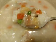 腊八粥-香咸浓稠的五彩八效食物组合电饭锅步骤