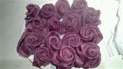 紫薯花形馒头