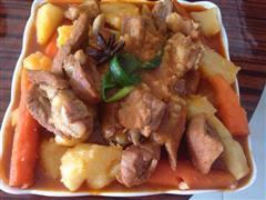 韩式辣排骨汤