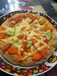 快手素披萨