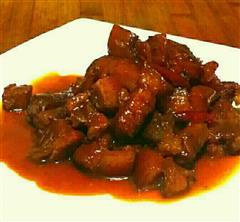 河北年夜饭必备-红烧肉