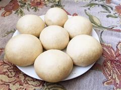 安徽年夜饭必备—荞麦面馒头