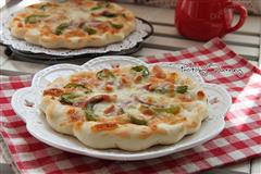 青椒培根披萨
