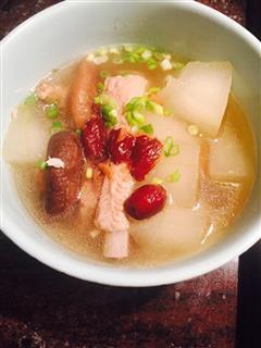 冬瓜香菇排骨汤