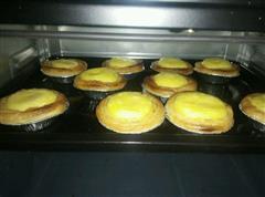 烤箱做蜜豆蛋挞