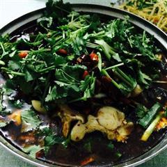 麻辣香菇水煮鱼
