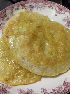 饺子皮煎饼