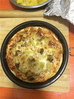 详细披萨饼皮做法-超级简单