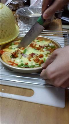 奥尔良鸡向披萨