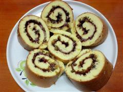 蓝莓沙拉酱蛋糕卷