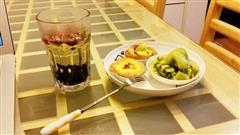 超级嫩的蛋挞+水果下午茶