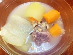 节瓜胡萝卜排骨汤