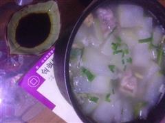 马蹄冬瓜排骨汤