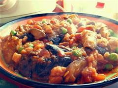 西红柿肉丁烧茄子