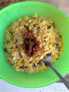 香菇鸡蛋炒饭