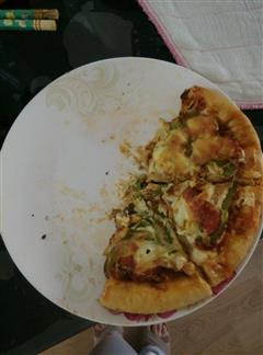 空气炸锅披萨
