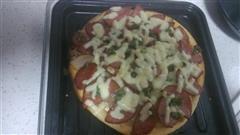 土豆火腿披萨