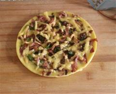 鸡蛋饼披萨