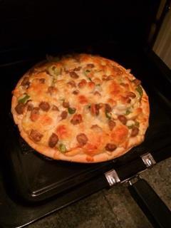 八寸肉丸披萨
