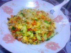 彩虹蛋炒饭