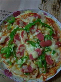 家常鸡肉披萨