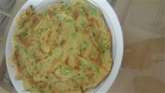 角瓜鸡蛋饼