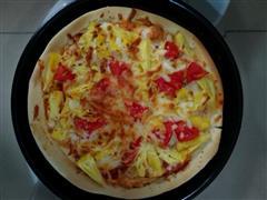随意烤披萨