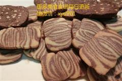 斑马黄油曲奇饼干