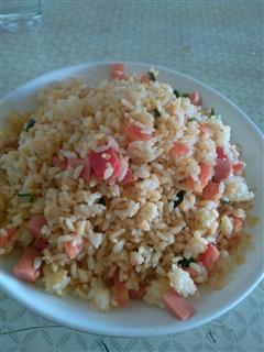 西红柿鸡蛋炒饭