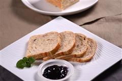 烤箱食谱-无糖全麦面包