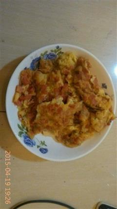 火腿鸡蛋饼