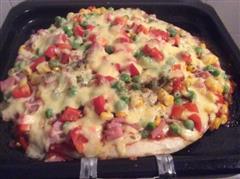 简易培根披萨