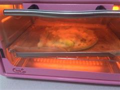甜蜜蜜拉丝黄桃菠萝6寸披萨
