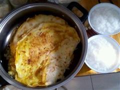 自家鸡蛋煎饼
