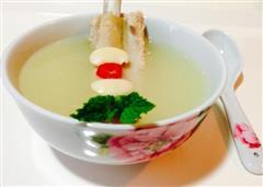 白云豆排骨汤