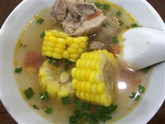最鲜美的玉米排骨汤