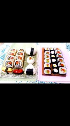 基础卷寿司,反卷,握寿司,军舰寿司