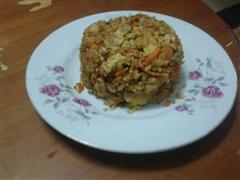 胡萝卜蛋炒饭