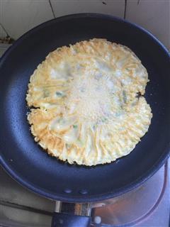 葱花鸡蛋煎饼