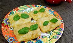 方形蛋皮南瓜煎饼