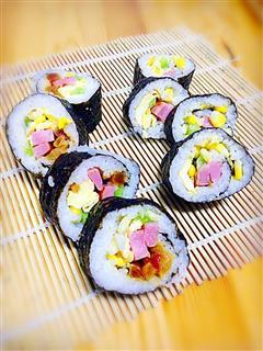 寿司君 包饭技术活