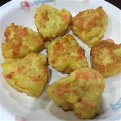 心型土豆鸡蛋饼