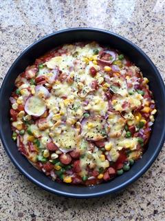 蔬菜披萨/海鲜披萨