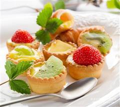 诱人美味-草莓酸奶蛋挞