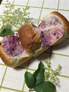 紫薯吐司面包