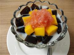 水果龟苓膏