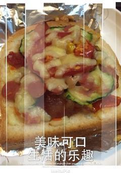 超赞自制美味吐司披萨
